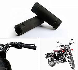 Speedwav Bike Comfort Riding Soft Grip Covers BLACK-Royal Enfield Classic 350