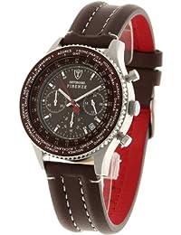 DETOMASO Herren-Armbanduhr Firenze Chronograph Quarz SL1624C-BN