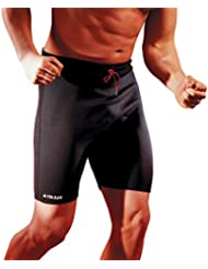 Vulkan Sportline Pantalones Cortos 1.5 mm, Hombre, Negro, M