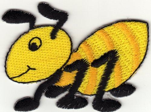 aufnaher-bugelbild-applikation-iron-on-patches-ameise-termiten-gelb