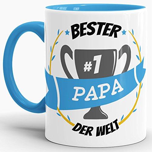 Lieblingspapa Becher Tasse Kaffeetasse Kaffeebecher Welt bester Papa Vatertag