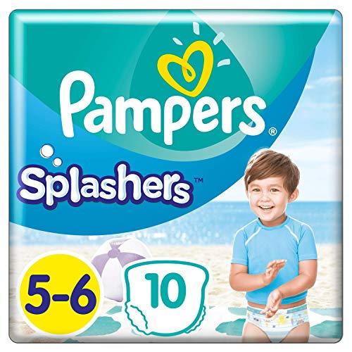 Pampers Splashers Größe5-6, 10Einweg-Schwimmwindeln -