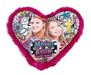 Joy Toy 66942Maggie & Bianca Corazón Cojín 33x 33cm