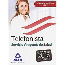 Telefonistas del servicio aragonés de salud.: 1