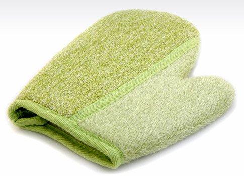 Scopri offerta per Magnum guanto da bagno in bambù naturale con spugna anallergico Ultrasoft e assorbente per pelli sensibili