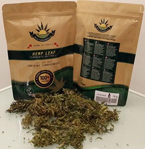 Eco Bio-Hanf ganze Knospen, Hanf-Teeblätter, lose, Kräutertee, Cannabidiol, 30g (Qualitätsware)