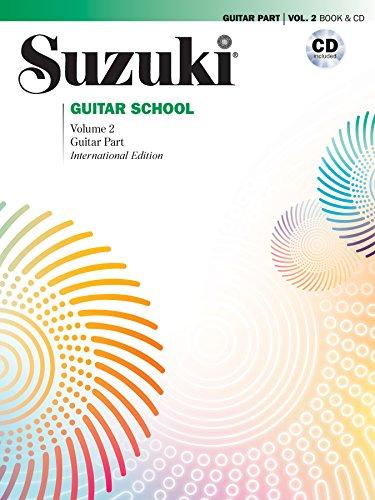 Suzuki Guitar School. Guitar Part & CD, Volume 2 (Revised) (Suzuki Guitar School (Paperback))