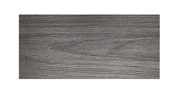 Motif WPC lames de terrasse coextrud/ées 23 x 138 mm lames massives teck