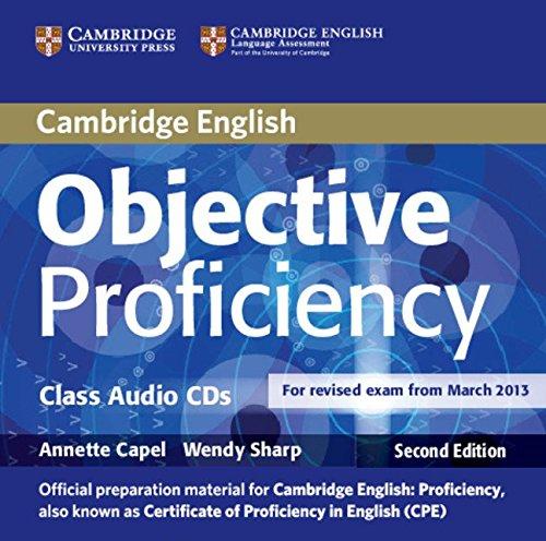 Objective Proficiency Class Audio CDs (2) por Annette Capel