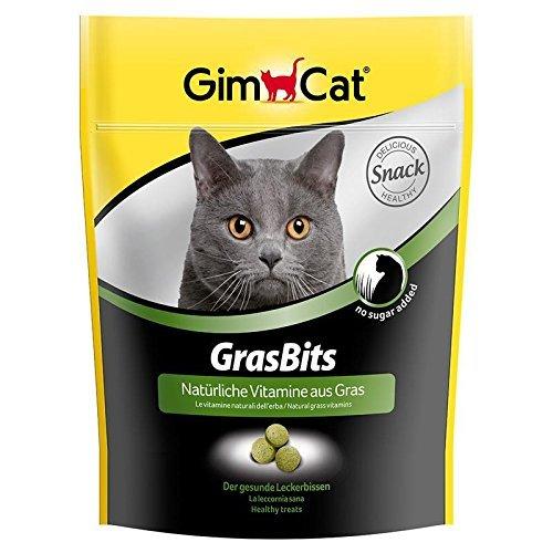katzeninfo24.de GimCat Grasbits 140g Katzensnack