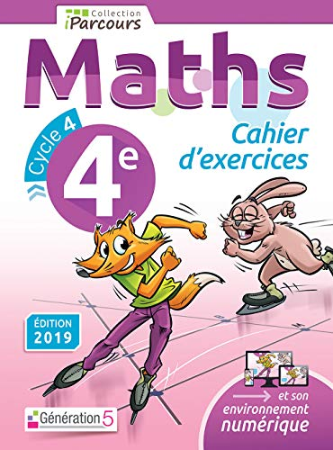 Cahier d'Exercices iParcours Maths 4e (2019)