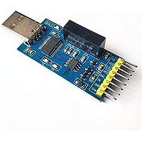 Yiwa USB a Puerto Serie Sink Gold USB a TTL USB a Serie UART Módulo FT232RL con Aislamiento de Voltaje-Aislamiento de señal