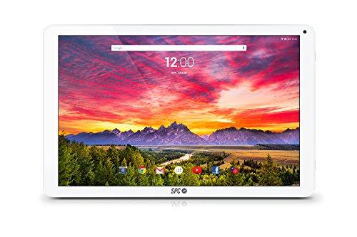 SPC HEAVEN 9762264B 64GB Plata, Color blanco - Tablet (DDR3-SDRAM, MicroSD (TransFlash),...