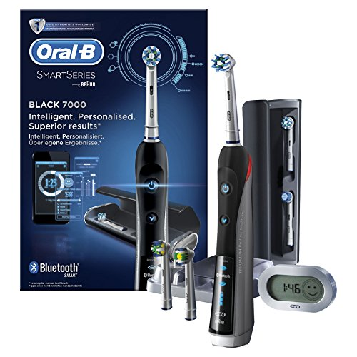 Oral-B Smart Series 7000 Black Brosse à dents électrique par Braun