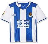 Adidas BG9561 - Camiseta oficial de fútbol para niños, color Multicolor (Blanco/Azul), 164 cm