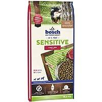 bosch HPC Sensitive Lamm & Reis | Hundetockenfutter für ernährungssensible Hunde aller Rassen, 1 x 15 kg