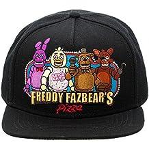 Cinco Noches En El Pizza Snapback Del Sombrero De Freddy Freddy Fazbear