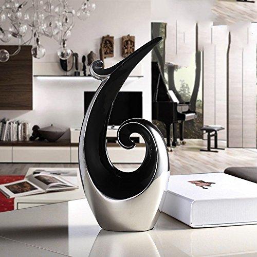 Bücherregal Büro Schreibtisch Wohnzimmer Haushalt Artikel Weinschrank Möbel ( Farbe : Black silver ) 'w Bücherregal