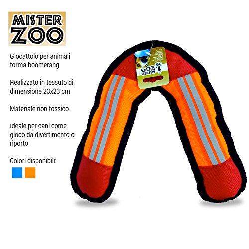 Mister Zoo - Juguete para Perros y Mascotas de Tela, 23 x 23 cm,, 8435424000794