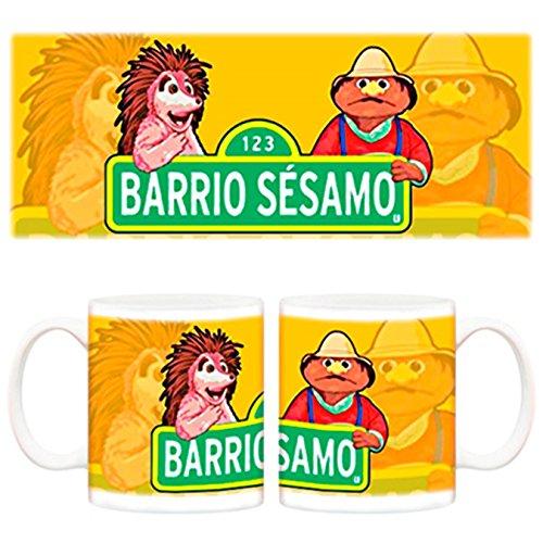 Taza Barrio Sésamo Espinete serie