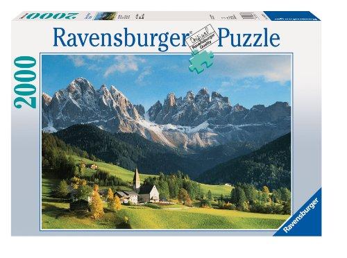 Ravensburger-16674-Italien-Dolomiten-2000-Teile-Puzzle Ravensburger 16674 – Italien Dolomiten, 2.000 Teile Puzzle -