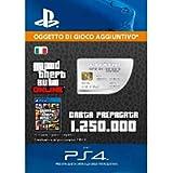Grand Theft Auto Online - GTA V Cash Card | 1,250,000 GTA-Dollars | Codice download per PS4 - Account italiano