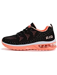 89ebb14dda55 Axcone Homme Femme Air Baskets Chaussures Outdoor Running Gym Fitness Sport  Sneakers Style Running Multicolore Respirante