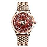 THOMAS SABO Reloj Analógico para Mujer de Cuarzo con Correa en Acero Inoxidable WA0353-265-212-33 mm