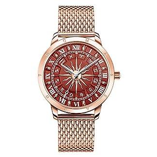 THOMAS-SABO-Damen-Analog-Quarz-Uhr-mit-Edelstahl-Armband-WA0353-265-212-33-mm