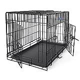 Best Cages - SONGMICS Cage pour Chien 2 Portes Pliable et Review