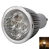 GU10 5W 5 LED 500LM 3000K Warm White Light LED Spotlight Bulb (85-265V) Image