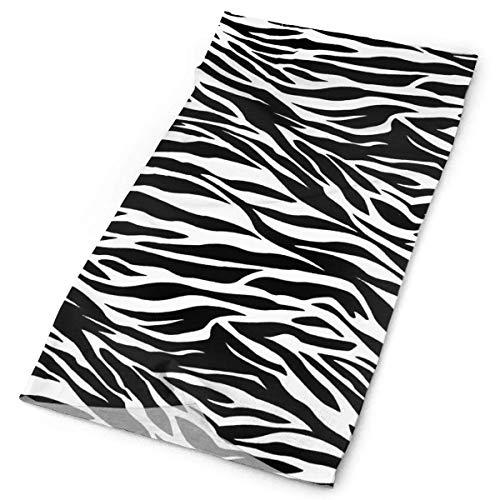 Cotton Striped Headwrap (Striped Zebra Horse Tiger Print Headband Unisex Headwrap Magic Head Scarf Bandana Kopfbedeckung Neckerchief Polyester Hairband Fashion Headdress Scrunchie Face Mask Neck Gaiter)