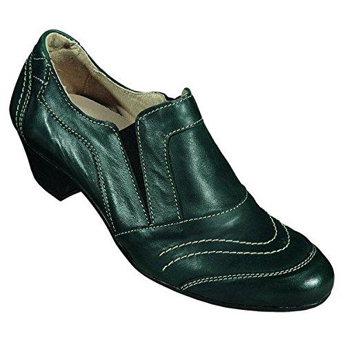 290237 Miccos shoes, escarpins femme Vert - Vert foncé