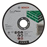 Bosch 2 608 600 385 - Disco de corte recto Expert for Stone - C 24 R BF, 125 mm, 2,5 mm (pack de 1)