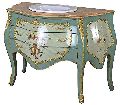 Barroco Lavabo Cómoda Armario de Vanidad Muebles de Baño Cuenco para Lavar cat191 Palazzo Exclusivo...