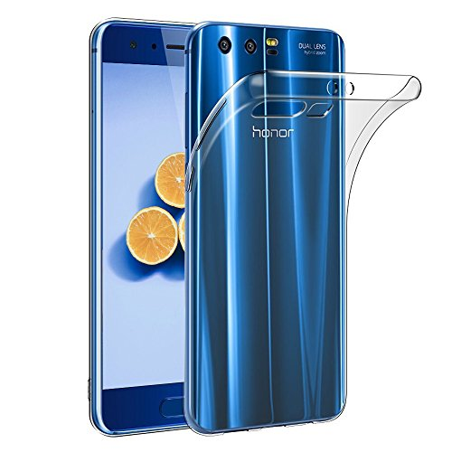 Honor 9 Hülle, FayTun Huawei Honor 9 Schutzhülle Case Silikon- Crystal Clear Ultra Dünn Durchsichtige Backcover Handyhülle TPU Case für Huawei Honor 9 (Transparent)