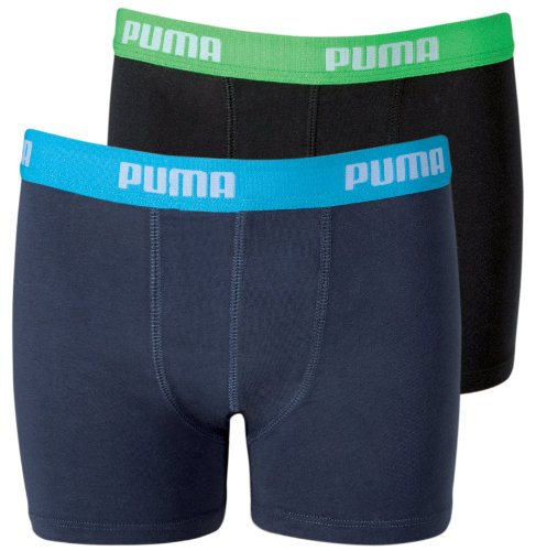 Puma Kids Basic 2P Boxer, Bambino, Grigio, 11-12 Anni
