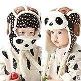 Cappello del bambino , feiXIANG Bambino bebè Bella guglia dei bambini a maglia della ragazza del ragazzo dei bambini Cappello morbido,maglia,Suit per bambini di 1-3 anni (Caffè)