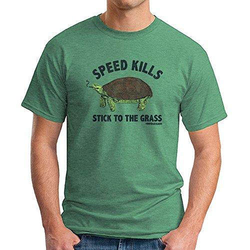 David and Goliath Speed Kills Mens T-shirt