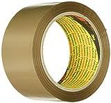 Scotch Verpackungsklebeband - Geräuscharmes braunes Klebeband zum Verschließen von Verpackungskartons & mehr - 50 mm x 66 m - 6 Rollen