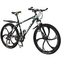 VTT,20 Pouces Vélos,Adulte VTT,Vélo de montagne à vitesse variable d'absorption des chocs légers,Vélos de route Vélos de ville (Green)