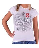 Quaint Point Polska Polen Trikot Damen T-Shirt KP10W