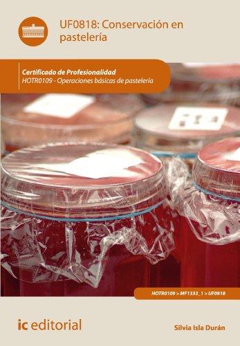 Conservación en pastelería. HOTR0109
