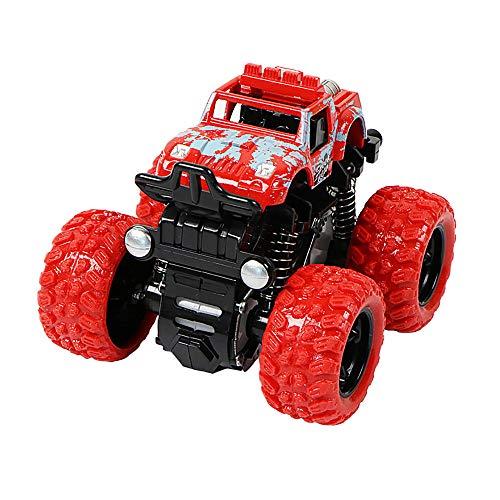 Mamum Inertia Vierradantrieb, Geländefahrzeug, Simulationsmodell, Spielzeug für Babyautomodell Einheitsgröße rot
