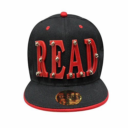 Men'S Fashion Read 3D Baseball Snapback Cap ( Read)  available at amazon for Rs.699