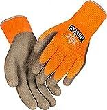 OX-ON Multi Grap Cool Latex Winter-Arbeitshandschuhe EN 388 KAT 2 (1131) orange schwarz | 11