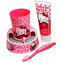 Sanrio - Set Cepillo Dientes Hello Kitty
