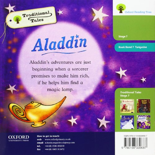 Oxford Reading Tree Traditional Tales: Level 7: Aladdin (Ort Traditional Tales)