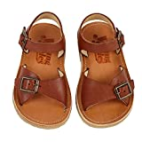 Young Soles Sonny Sandal - Chestnut Brown - UK 7/US 8/EU 24