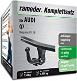 Rameder Komplettsatz, Anhängerkupplung starr + 13pol Elektrik für Audi Q7 (131608-14159-1)